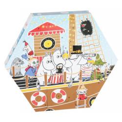 Moomin Christmas Advent Calendar Plastic Toys Figures Boat 2018 Martinex