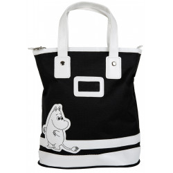 Moomin Small Totebag Moomintroll Black