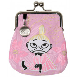 Moomin Coin Purse Pink Little My Day Dreaming