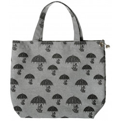 Moomin Shopping Bag Nana Pepper Grey