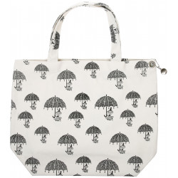 Moomin Shopping Bag Nana Pepper White