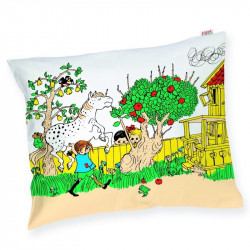 Pippi Longstocking the Strongest Girl in the World Pillowcase 50 x 60 cm