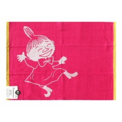 Moomin Terry Towel Little My Pink 50 x 70 cm Finlayson