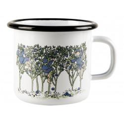 Elsa Beskow Enamel Mug Blueberries 0.25 L Muurla