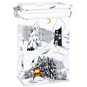 Moomin Polar Bear Coffee Tea Tin Box
