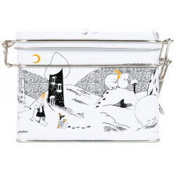 Moomin Polar Bear Tea Tin Box