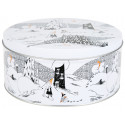 Moomin Polar Bear Round Tin Box Size L