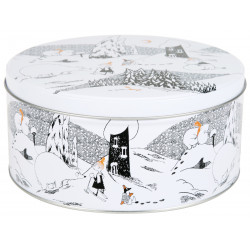 Moomin Polar Bear Round Tin...