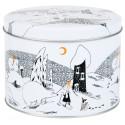 Moomin Polar Bear Round Tin Box Size M