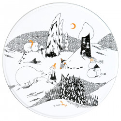 Moomin Polar Bear Big Tin Bauble