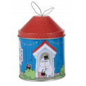 Moomin Christma Tree Tin Decoration House Mamma Pappa