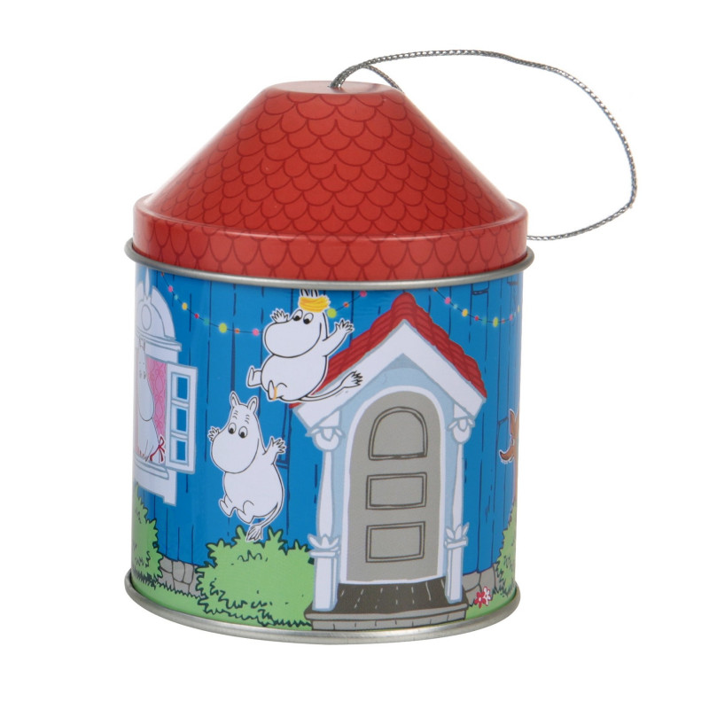 Moomin Christmas Tree Tin Decoration House Troll Snorkmaiden