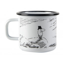 Moomin Pappa and the Sea Enamel Mug Solitude 0.37 L