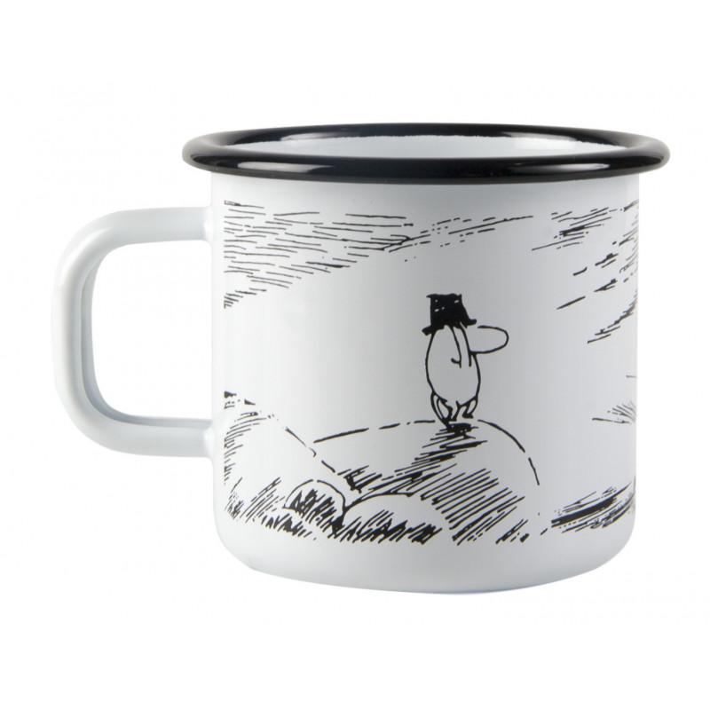 Moomin Pappa and the Sea Enamel Mug Solitude 0.37 L