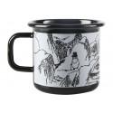 Moomin Pappa and the Sea Enamel Mug Troll 0.37 L