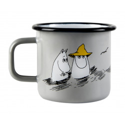 Moomin Pappa and the Sea Enamel Mug Friends 0.37 L