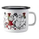 Moomin Enamel Mug Winter Magic 0.25 L
