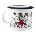 Moomin Enamel Mug Winter Magic 0.25 L