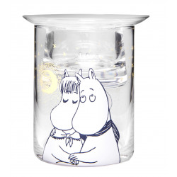 Moomin Tea Light Holder Winter Romance 10 cm