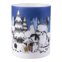Moomin Candle Winter Forest 12 cm