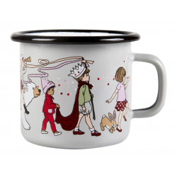 Belle and Boo Enamel Mug Parade 0.25 L