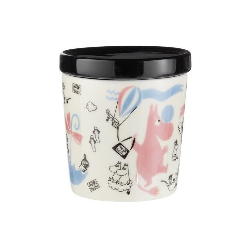 Moomin Ceramic Jar 0.3 L Anniversary Arabia Finland