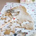 Moomin Moominmamma Dough Rolling Mat