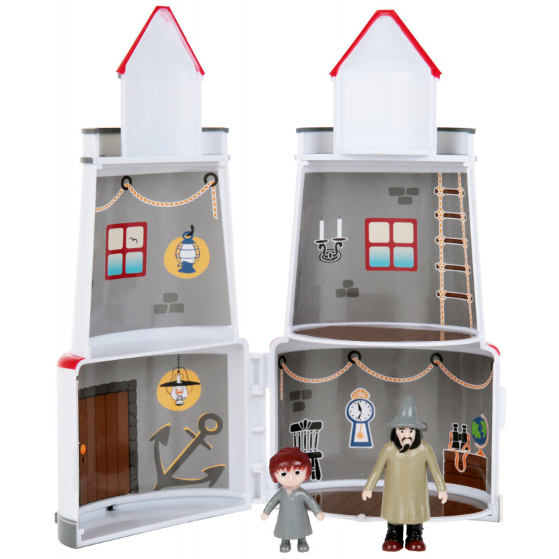 Moomin Lighthouse and 2 Characters