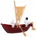 Moomin Moominpappas Boat and 2 Characters