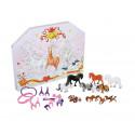 Lena Furberg Polle Christmas Calendar with Toys