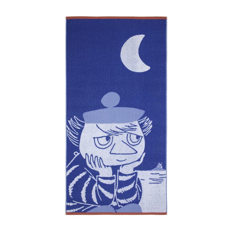 Moomin Bath Towel Tooticky Blue 70 x 140 cm Finlayson