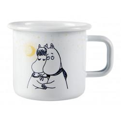 Moomin Enamel Mug Winter Romance White 0.37 L