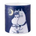 Moomin Candle Winter Romance 8 cm