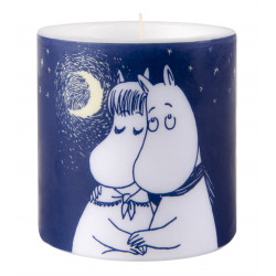 Moomin Candle Winter Romance 8 cm