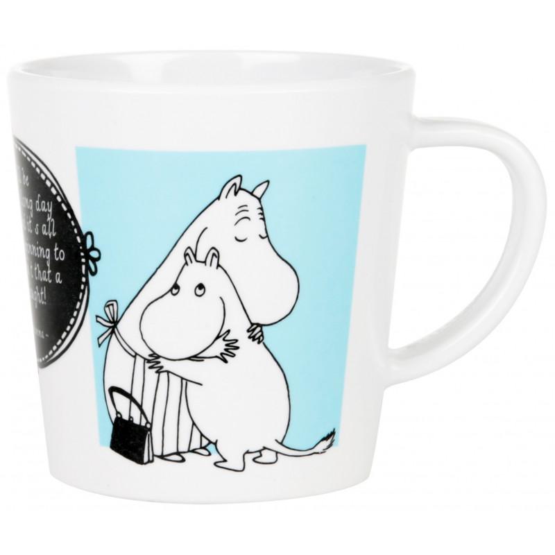 Moomin Melamine Mug Parents