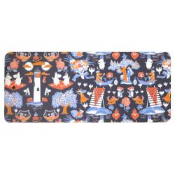 Moomin Cutting Board 40 x 17 cm Magic Blue