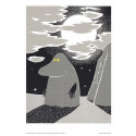 Moomin Posters 24 x 30 cm Set of 4 Putinki (Set 15)