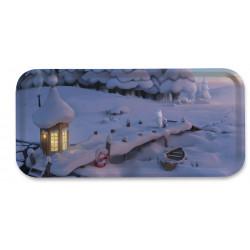 Moomin Birch Tray 32 x 15 cm Moominvalley Snowbridge