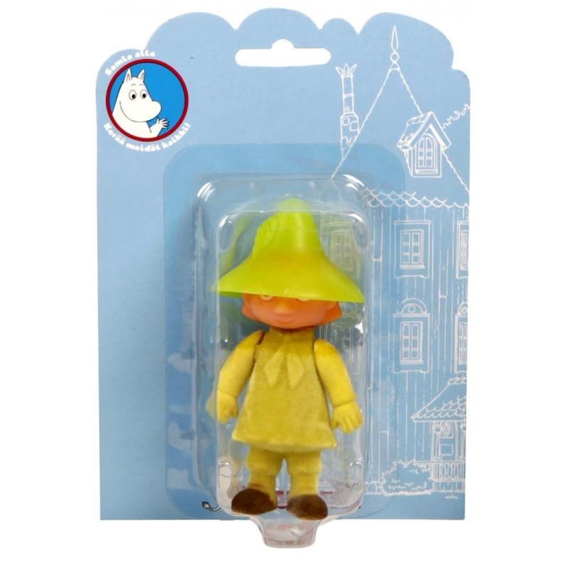Moomin Plastic Figure Snufkin Velvet