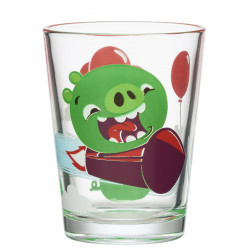 Angry Bird Glass Tumbler Piggies 0.22 L Arabia