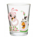 Angry Birds Glass Tumbler Stella and Matilda 0.22 L Arabia