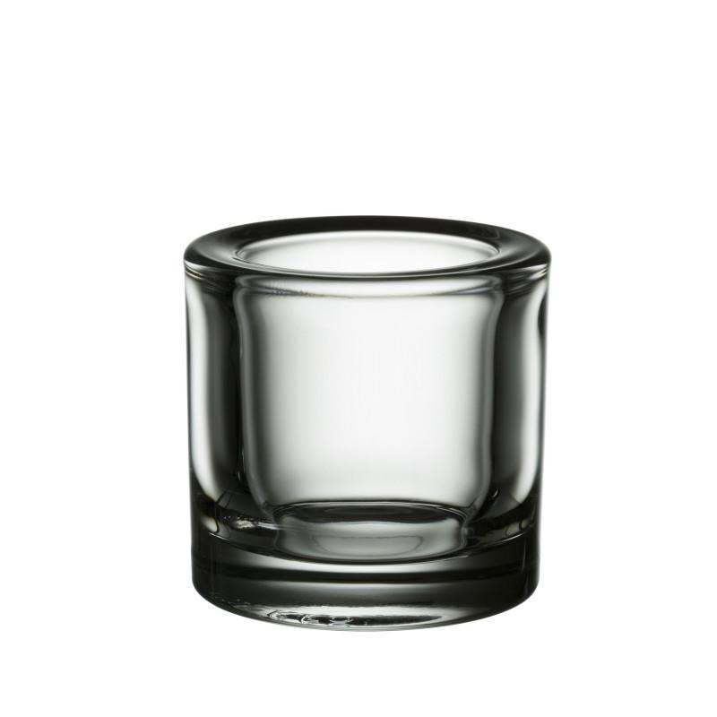 Kivi Votive Candle Holder Clear 60 mm Iittala