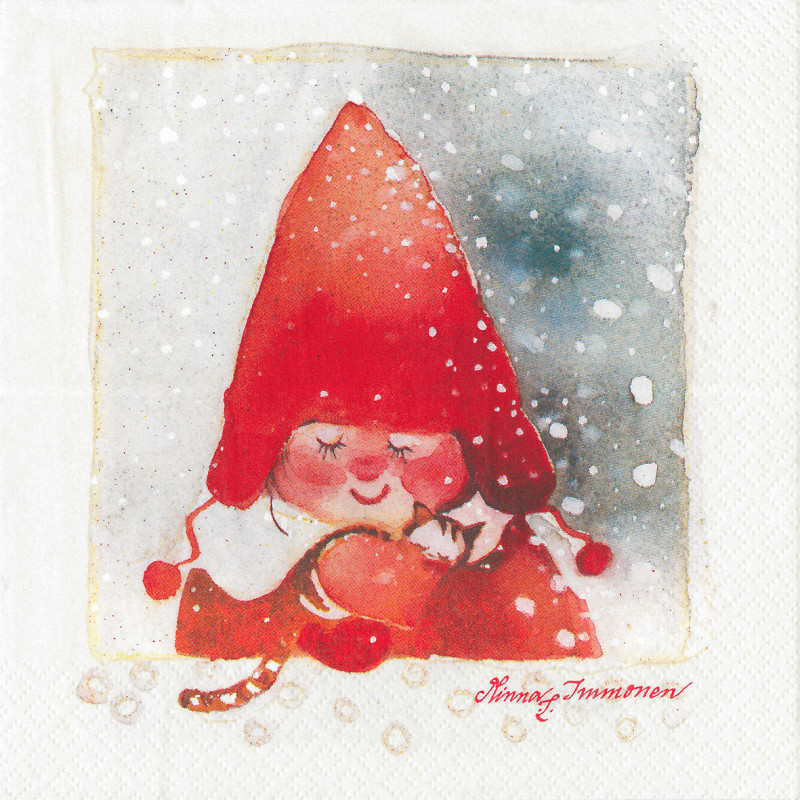 Havi Paper Napkins Elf Girl 20 pcs 33 cm