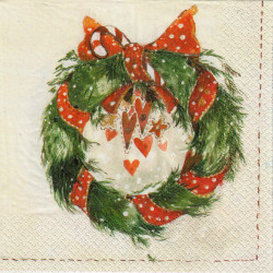 Havi Paper Napkins Wreath 20 pcs 33 cm