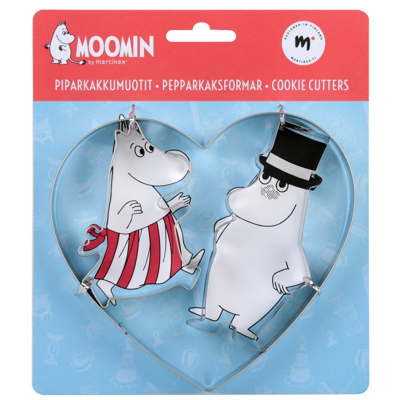 Moomin Affection Cookie Cutter Set