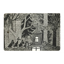 Moomin Cutting Board 30 x 20 cm Cottage in the Wood