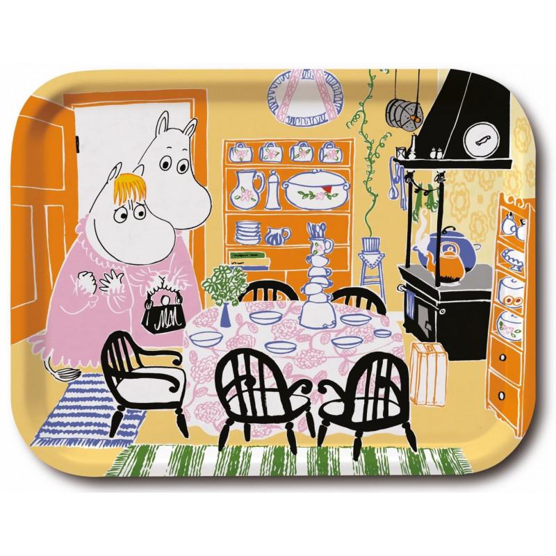 Moomin Birch Tray Kitchen 43 x 33 cm
