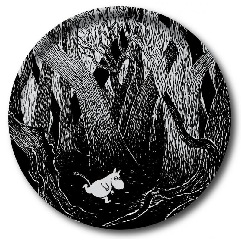 Moomin Birch Tray Running Moomin 38 cm