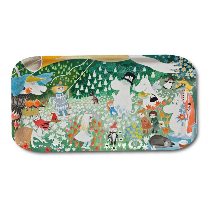 Moomin Birch Tray Dangerous Journey 53 x 32 cm