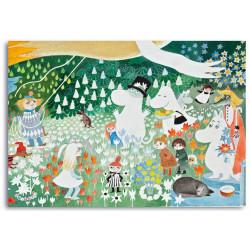 Moomin Placemat Dangerous Journey 40 x 30 cm